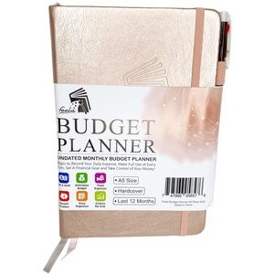 Feela Budget Planner Undated Expense Tracker Book